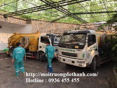 Hút hầm cầu các tòa nhà chung cư Sài Gòn