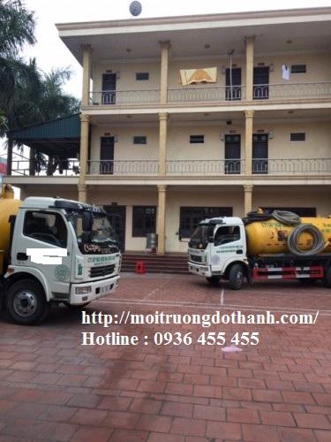 Hút hầm cầu các công ty xí nghiệp Sài Gòn