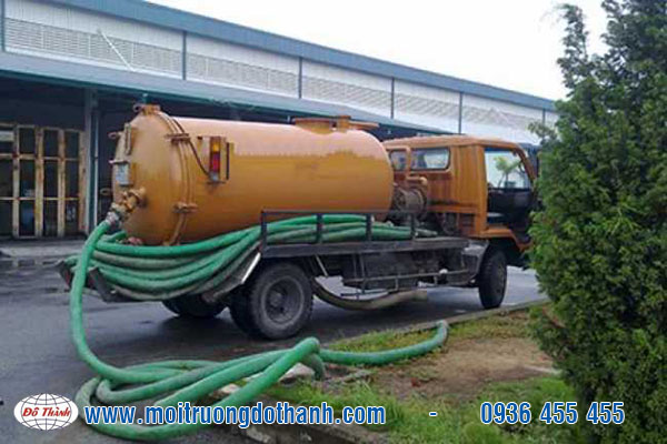 Vận chuyển xử lý nước thải Quận 9