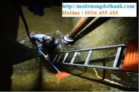 Vệ sinh bể nước ngầm Cần Thơ